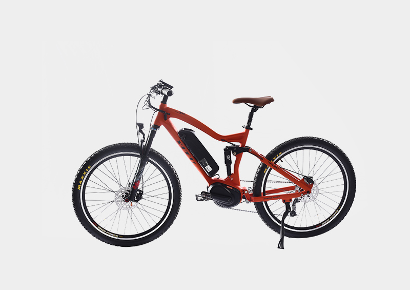 Bafang m400 torque sensor 48v 350w mid drive motor system electric mountain bicycle with color LCD display