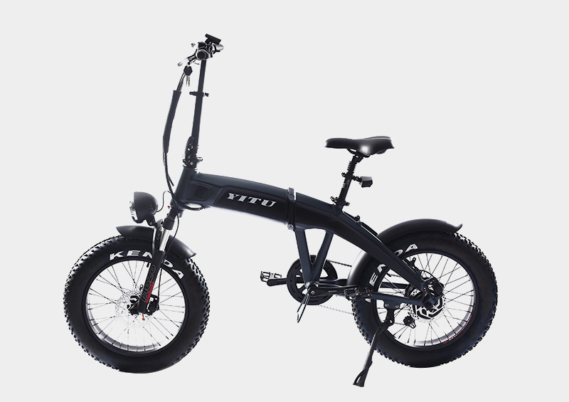 Frame hidden battery fat tire 20 inch folding electric bike