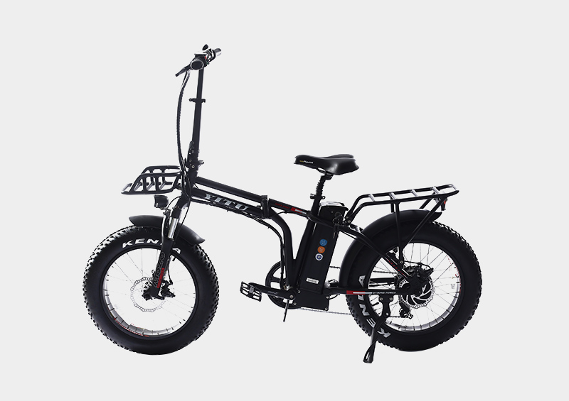 20 inch strong frame fat tire mini electric foldable bicycle
