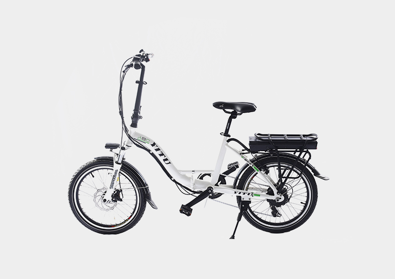 rear rack battery 20 inch folding electric bike