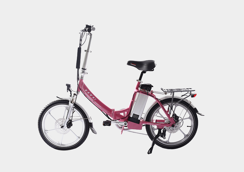 Aluminum alloy motor wheel electric folding bike