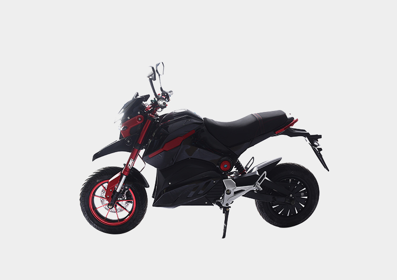 Front and rear Hydraulic disc brake electric powered motorcycle