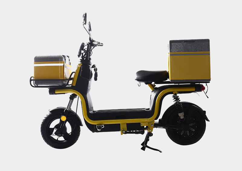 60V 1000W fast food pizza delivery electric motorcycle with pedal assisted