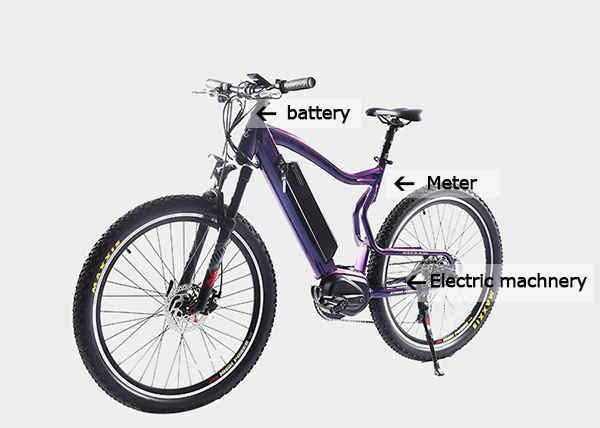 Need to pay attention to driving an electric bicycle?