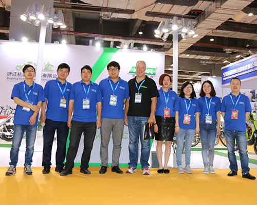 2017 SHANGHAI INTERNATIONAL BICYCLE SHOW--WITH PROFESSIONAL SA BUYER